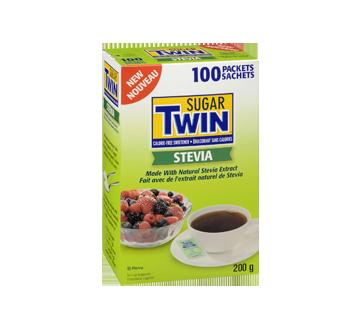 Image 2 du produit Sugar Twin - Sugar Twin Stevia, 100 sachets