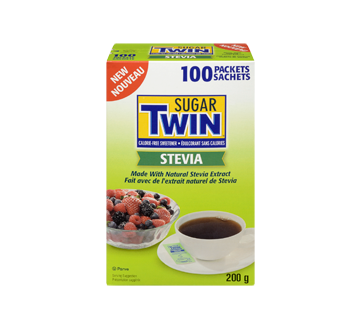 Image 3 du produit Sugar Twin - Sugar Twin Stevia, 100 sachets