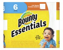 Image du produit Bounty - Essentials essuie-tout, 6 unités