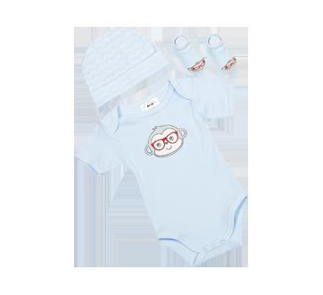 Image 4 du produit PJC Bébé - Cache-couche, bonnet et chaussettes, 3 unités