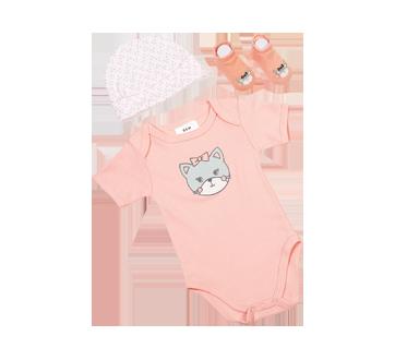 Image 6 du produit PJC Bébé - Cache-couche, bonnet et chaussettes, 3 unités