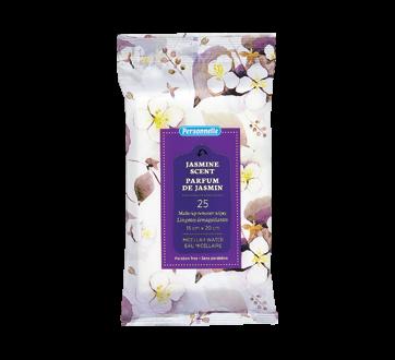 Lingettes démaquillantes avec eau micellaire, 25 unités, jasmin