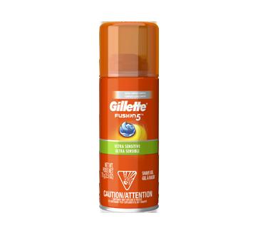 Fusion HydraGel Ultra Sensible gel à raser, 70 g
