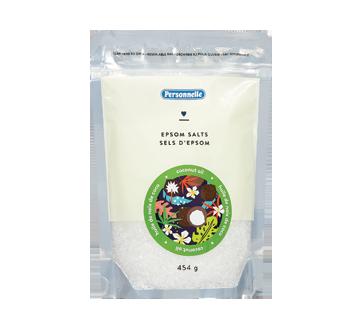 Sel d'epsom, 454 g, huile de noix de coco