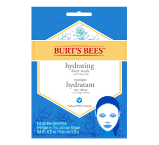Masque hydratant en tissu, 1 unité