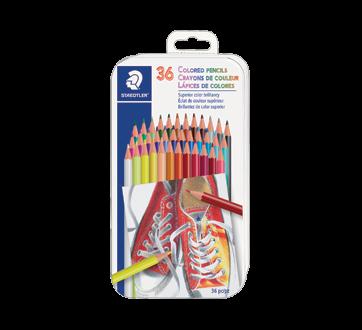 Crayons de couleur, 36 unités