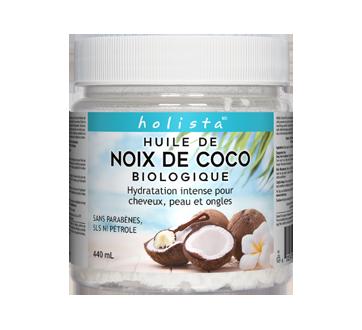huile de noix de coco biologique 440 ml holista divers jean coutu