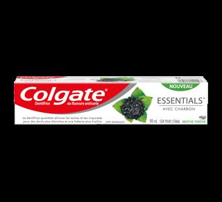 Essentials avec charbon dentifrice , 98 ml