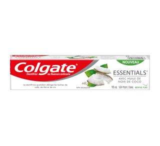 Essentials avec huile de noix de coco dentifrice blanchissant, 98 ml