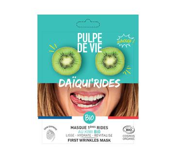Daïqui' Rides: Masque visage hydratant au kiwi, 1 unité