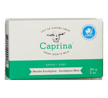 Savon en barre au lait de chèvre frais, 141 g, menthe eucalyptus
