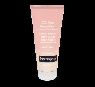 Exfoliant moussant anti-acné sans huile, 198 ml, pamplemousse rose