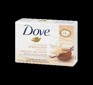Pur Bien-Être pain de beauté beurre de karité au chaud parfum de vanille, 2 x 113 g