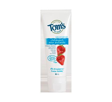 Dentifrice pour enfants naturel Sans Fluorure, 90 ml, fraise fofolle