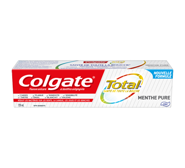 Total dentifrice, 120 ml, menthe pure