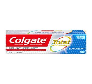 Total blanchissant dentifrice, 120 ml