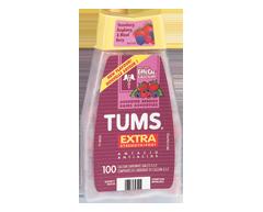 Image du produit Tums - Tums extra fort, 100 unités, baies assorties