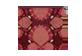 Vignette du produit Ketto - Moyenne pochette zéro déchet, 1 unité, pompon bourgogne