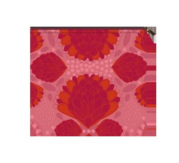 Moyenne pochette zéro déchet, 1 unité, pompon rose