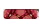 Vignette du produit Ketto - Pochette zéro déchet avec ustentiles, 1 unité, pompon bourgogne