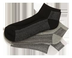 Image du produit Studio 530 - Bas sport pour hommes pied coussiné, 3 unités, couleurs assorties