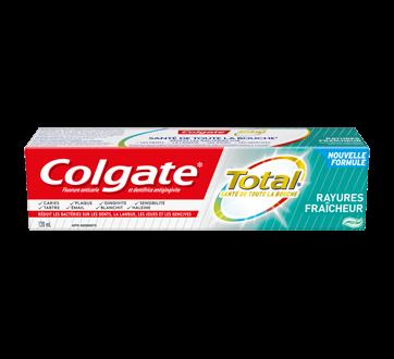 Total fraîcheur dentifrice à rayures, 120 ml, menthe fraîcheur