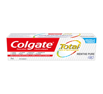 Total dentifrice, 70 ml, menthe pure