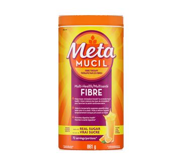 Image du produit Metamucil - Fibres MultiSanté, 861 g, orange
