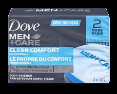 Image du produit Dove Men + Care - Clean Comfort pain nettoyant, 113 g