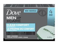 Image du produit Dove Men + Care - Clean Comfort pain nettoyant, 90 g