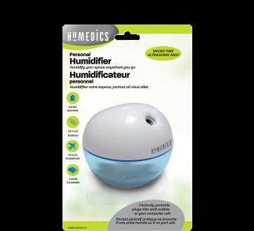 Image du produit HoMedics - Humidificateur personnel portatif, 1 unité