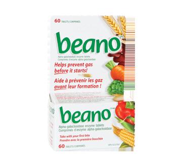 Image du produit Beano - Beano comprimés, 60 unités