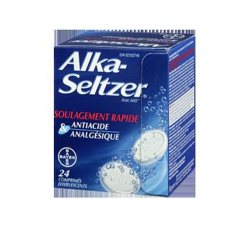 Image 1 du produit Alka-Seltzer - Alka-Seltzer comprimés, 24 unités