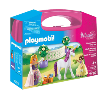 Mallette Princesses avec licorne, 1 unité