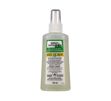 Great Outdoors insectifuge en vaporisateur adultes, 150 ml