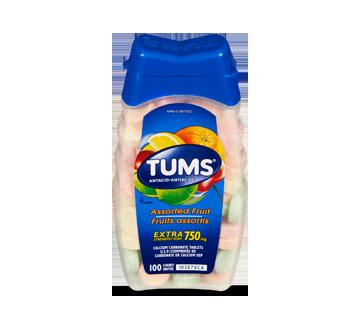 Image du produit Tums - Tums extra fort, 100 unités, fruits