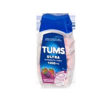 Image 1 du produit Tums - Tums ultra fort 1000 mg, 72 unités, baies assorties