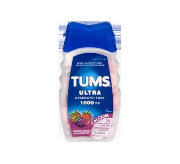 Image 3 du produit Tums - Tums ultra fort 1000 mg, 72 unités, baies assorties