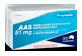 Vignette du produit Personnelle - Comprimés d'acide acétylsalicylique (AAS) 81 mg, 300 unités