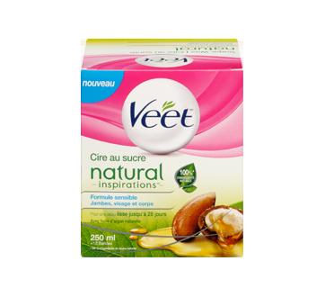 Image 2 du produit Veet - Natural Inspirations cire au sucre, jambes, visage et corps, 250 ml