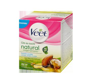 Image 4 du produit Veet - Natural Inspirations cire au sucre, jambes, visage et corps, 250 ml