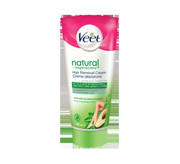Natural Inspiration crème dépilatoire jambes et corps, peau normale et sèche, 200 ml