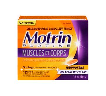 Image 1 du produit Motrin - MotrinPlatine muscles et corps, 18 unités