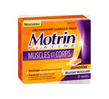 Image 2 du produit Motrin - MotrinPlatine muscles et corps, 18 unités