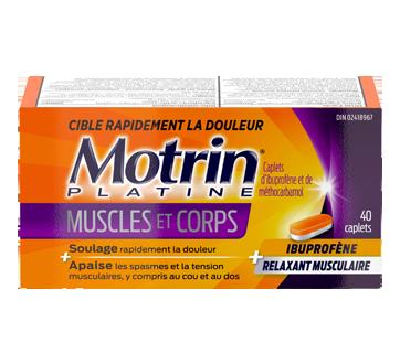 Image 1 du produit Motrin - MotrinPlatine muscles et corps, 40 unités