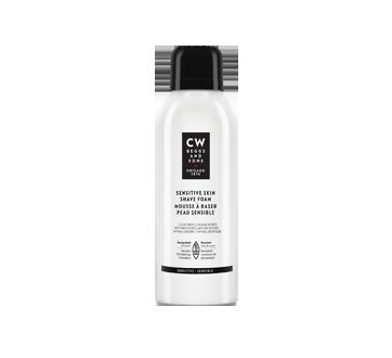 Mousse à raser peau sensible, 150 ml