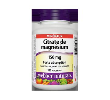 Image du produit Webber - Citrate de magnésium forte absorption 150 mg, 120 unités