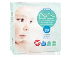 Image du produit Personnelle Bébé - Lingettes pour bébé, 3 x 72 unités