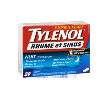 Image 2 du produit Tylenol - Tylenol Rhume et Sinus extra fort formule nuit, 20 unités