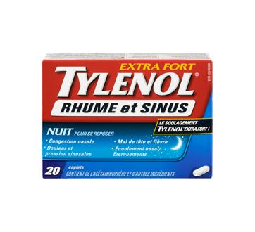 Image 3 du produit Tylenol - Tylenol Rhume et Sinus extra fort formule nuit, 20 unités